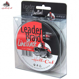 Hell-Cat Návazcová šňůra Leader Braid Line Black 0,90mm, 75kg, 20m