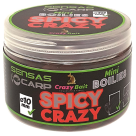 Sensas Mini Boilies Crazy Spicy koření 80g