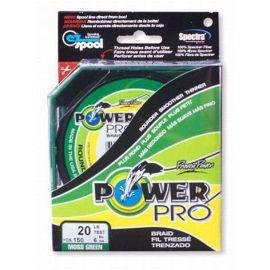 Rybářská pletená šňůra Power Pro 0.76mm 95kg zelená 1 m