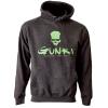 Mikina s kapucí Gunki DARK SMOKE