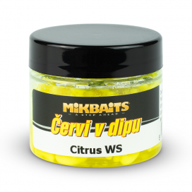 Mikbaits Červi v dipu 50ml - Citrus WS