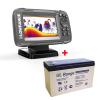 AKCE Lowrance Echolot HOOK2 4x GPS Bullet Skimmer + Baterie