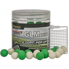 Starbaits Boilies Pop Up Fluo GLMarine 80g