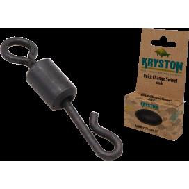Kryston obratlíky, kroužky - Rychlovýměnný obratlík č.7 10ks