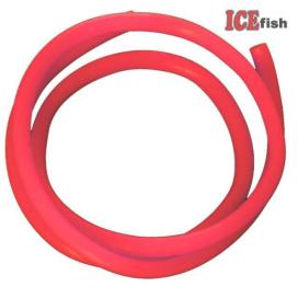 ICE fish Fluo trubičky 50cm červená