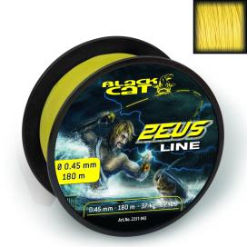 Black Cat Šnůra Zeus line svítivě žlutá