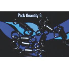 Osprey bižutéria - Tactical obratlík č.8 s O krúžkom matný 8ks