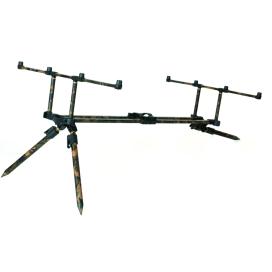 "Fox Stojan Horizon Duo camo 3 rod pod inc 2 x 36"" long legs"