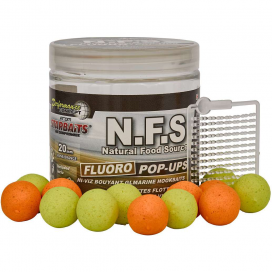 Starbaits Plovoucí boilies Fluo N.F.S