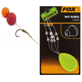 Fox Zarážky Edges Bait Bungs Clear