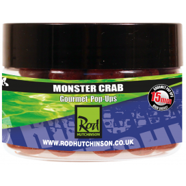 Rod Hutchinson Pop Ups Monster Crab with Shellfish Sense Appeal  15mm