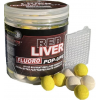 Starbaits Boilies Fluo Pop Up Red Liver 80g 14mm