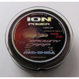 Rybářský vlasec Awa-Shima Ion Power Browny Carp 1200m