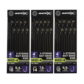 Matrix Návazce MXC 4 X Strong Bait Band 10cm 8ks