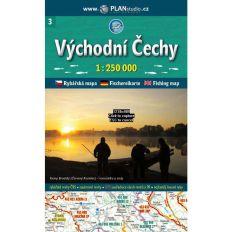 Rybářská mapa - východní Čechy