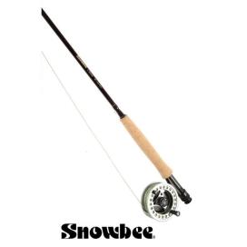 Rybářský prut Snowbee Classic Fly 7ft (2,1m), 3/4, 4-díl