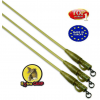 Extra Carp Safety Clips with Camo Tubing