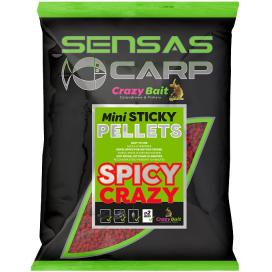 Sensas Pelety Mini Sticky Spicy 700g