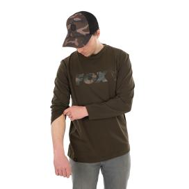 Fox Tričko Khaki Camo LS