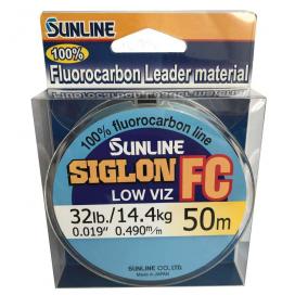 SUNLINE Fluorocarbon SIGLON FC 50m,0.490mm/14.4 kg