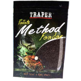 Traper Pelety Method Feeder Vanilka 2mm 500g