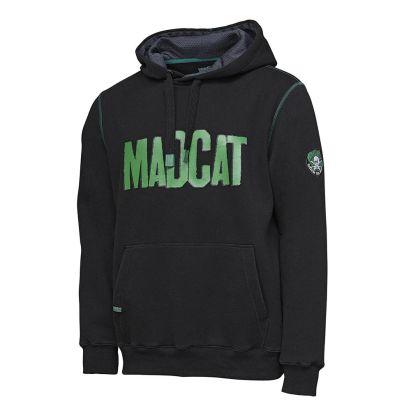 MadCat Mikina Mega Logo Hoodie Black Caviar