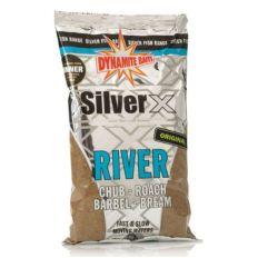 Krmítková směs Dynamite Baits Silver X River - Original 1kg