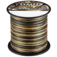 Rybářská pletená šňůra Spiderwire 0,12mm 7,1 kg camou 1m
