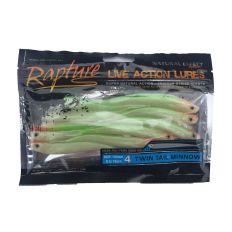 Rapture gumová nástraha Twin Tail Minnow 10,2cm/10ks