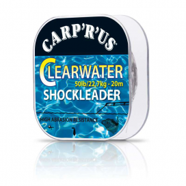 Carp´R´Us Clearwater Shock Leader - 50lb, 20m