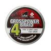 Dam Crosspower 4-Braid 0.15Mm / 8.1Kg/18Lb /150M - Green