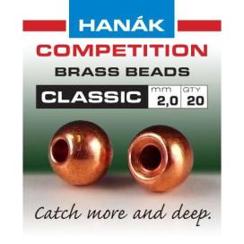 Hanák klasické mosazné hlavičky Měděné 2mm