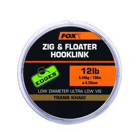 Fox návazcová šňůrka EDGES ZIG & FLOATER HOOKLINK 100m