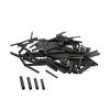 Savage Gear Wire Black Crimps XL ?1.6mm 100ks