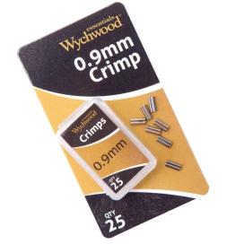 Wychwood kovové spojky 0.9mm Crimps 25ks