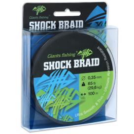 Giants Fishing Šňůra Shock Braid 100m 0,35mm 29,6kg