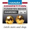 Hanák tungstenové hlavičky DIAMOND zlaté 20ks