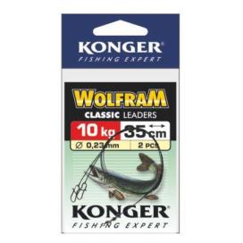 Konger Wolframové lanko 2ks 25cm/10kg