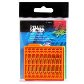Giants Fishing Zarážky na pelety Pellet Holder Mix Colour(oranžová,žlutá,červená),3 bal.