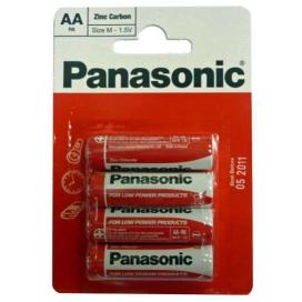 Baterie Panasonic R6 - AA 4ks