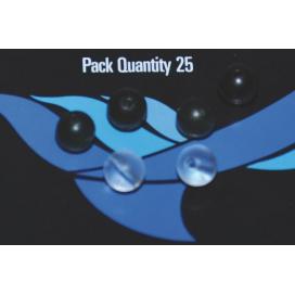 Osprey bižuterie - Chameleon multifunkční korálek hnědý 25ks