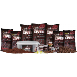 Starbaits Red Liver Pelety Mixed 2kg