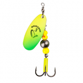 Savage Gear třpytka Caviar Spinner Fluo Yellow/Chartresure