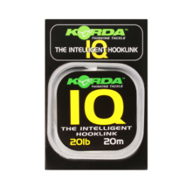 Korda Fluorokarbon - IQ The Intelligent Hooklink 20 m