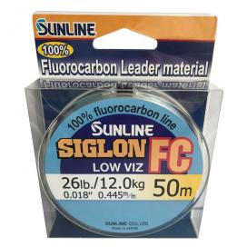 SUNLINE Fluorocarbon SIGLON FC 50m,0.445 mm/12 kg