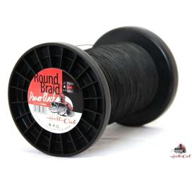 Hell-Cat Splétaná šňůra Round Braid Power Black 1000m