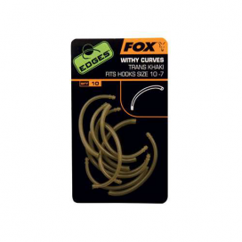 Fox Hadička Edges Withy Curves Trans Khaki