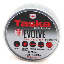 Taska Evolve - Shurelink komb. návazcový materiál zelený 20m 20lb