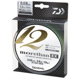 Daiwa Pletená Šňůra Morethan 12 Braid EX+Si 135m