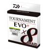 Daiwa Šňůra Tournament 8 Braid EVO+ Chartreuse 0.12mm 135m